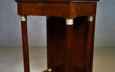 Console table - Empire - Brass, Mahogany - 1815-1825