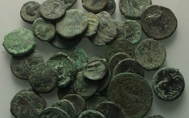 Lot of 40 Greek Æ coins, to be catalog. Lot...