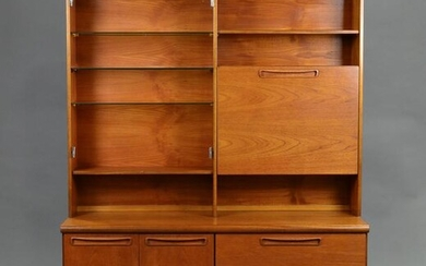 Mid Century Bookcase / Cocktail Cabinet