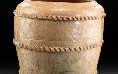 Tall Chinese Ming Dynasty Pottery Jar, TL Tested