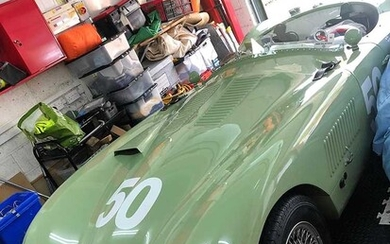 2014 Realm Heritage C-Type A tribute to Tommy Wisdom's Works-supported car 'XKC005'