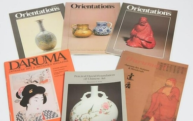 A Group of Six Asian Art Reference Books, ????????????