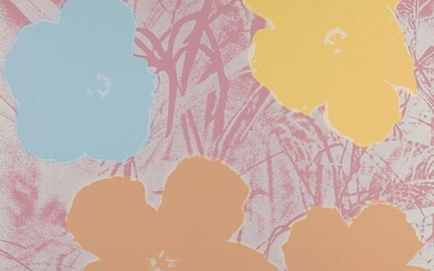 Andy Warhol, American 1928-1987- Flowers [Feldman and Schellmann II.70], 1970; screenprint in colours on wove, an unsigned proof aside from the edition of 250, printed by Aetna Silkscreen Products, published by Factory Additions, New York, sheet...