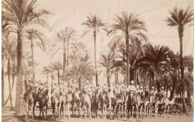 British Empire - Imperial Camel Corps Photograph - WWI