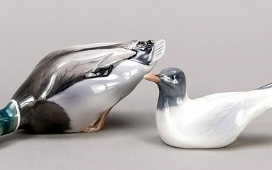 Duck and seagull, Royal Copenh
