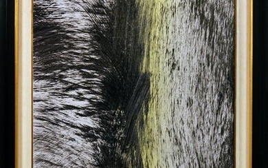 Hans HARTUNG 1904-1989 T1977-R39 Acrylic on wood signed and dated...