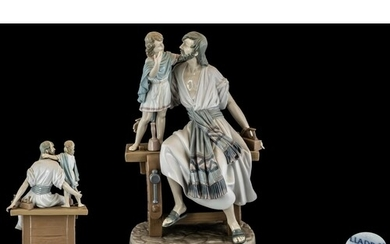 Lladro - Large and Impressive Hand Painted Porcelain Figure ...