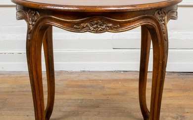 Auffray Attr. Louis XV Style Oak Coffee Table