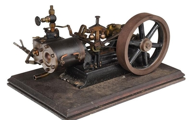 Model of a Stationary Steam Engine