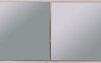 SET OF FOUR SQUARE MIRRORED TILES