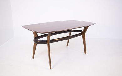 Wooden table. Italy. 1950s