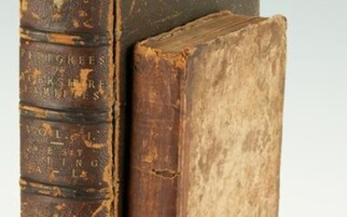 2 Books: Pedigrees of Yorkshire Families and 1813