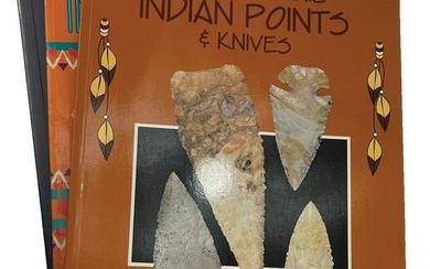 3 Hothem Books includes Early Archaic Indian Points and