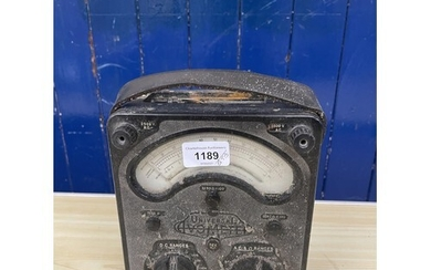 A Universal Avo Meter, and various other meters (qty)