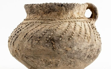 Chinese Neolithic Pottery Stem Cup