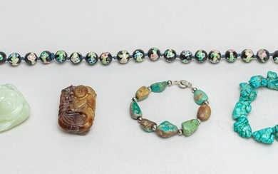 Collectible Chinese Jade, Turquoise Jewelries