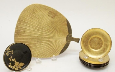 Collection of Japanese Lacquer Dishes