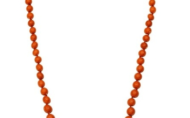 Collier corail   Coral necklace