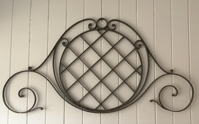 French Wrought Iron Architectural Element
