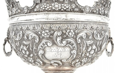 George IV Sterling Silver Monteith