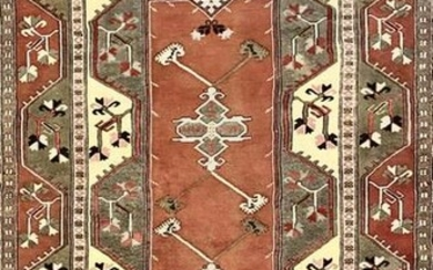 Hand Knotted Persian Tribal Rug, 9'5†x 6'11â€