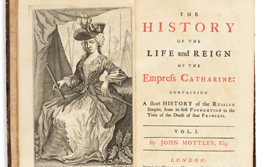 Mottley John (1692 1750) The History of the Life and Reign o