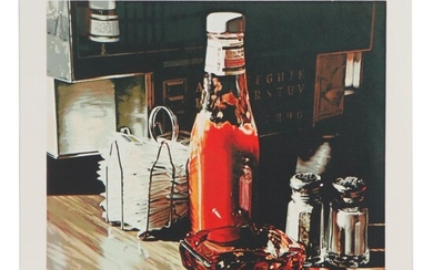 """Ralph Goings Serigraph """"Still Life With Sugars,"""" 1981"""