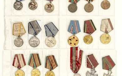 Russia, URSS, Russian Federation A lot of 30 medals
