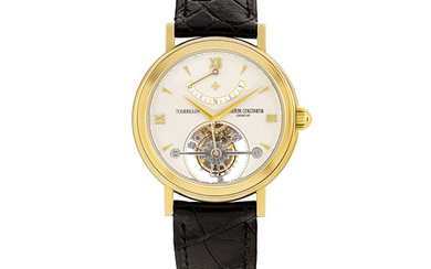 VACHERON CONSTANTIN, GOLD TOURBILLON AND POWER RESERVE, REF. 30050