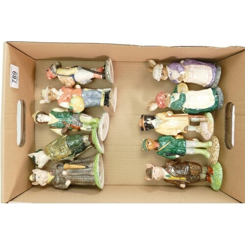 collection of Beswick English Country folk figurines (10)