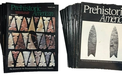 48 Prehistoric Americans between 1990 and 2007. Many