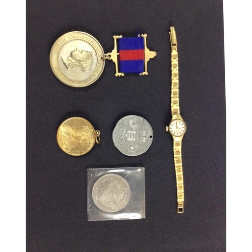 A small collection of COMMEMORATIVE MEDALS to celebrate QUEE...