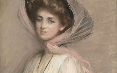 ATTRIBUTED TO PAUL CESAR HELLEU (FRENCH, 1859 -...