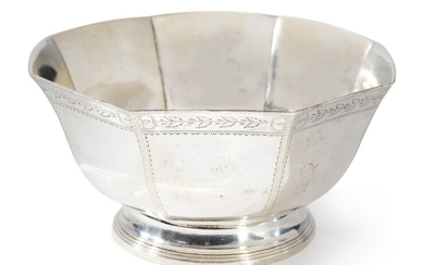 An American Silver Bowl, William Thomson, New York, circa 1800