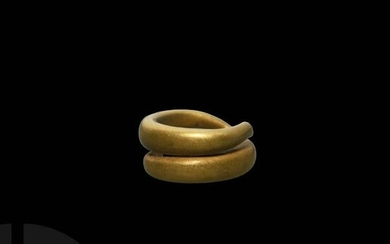 Bronze Age Gold Hair Ring