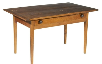 COUNTRY HEPPLEWHITE SINGLE DRAWER TABLE