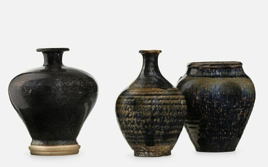 Chinese, Collection of three vases