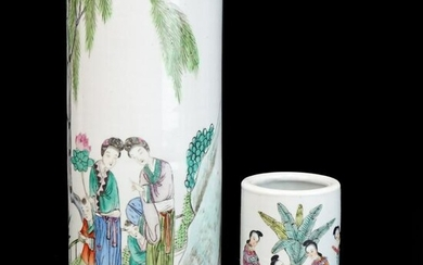 Chinese Hat Stands / Vases