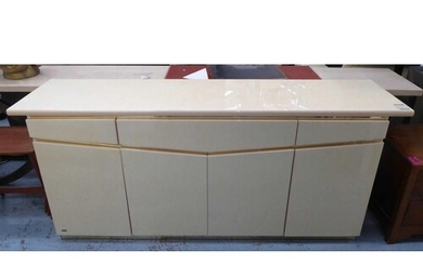 ERIC MAURLE SIDEBOARD, vintage 1970's French, 201cm x 51cm x...