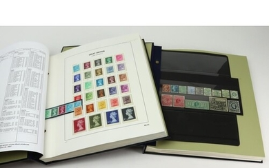 GB - 1856 to 1989 mint or unmounted mint collection housed i...