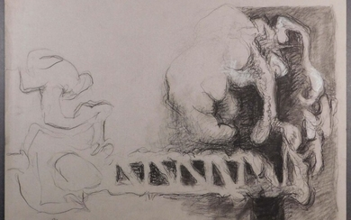 Henry Moore, Manner of: Double Sided Idea for a