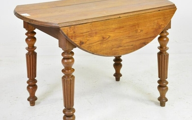 Louis Philippe Style Drop Leaf Table