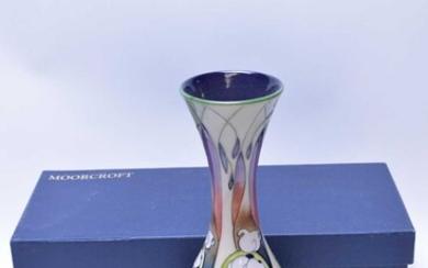 Moorcroft limited edition vase.