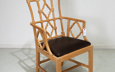 Nice Chinese Chippendale style armchair