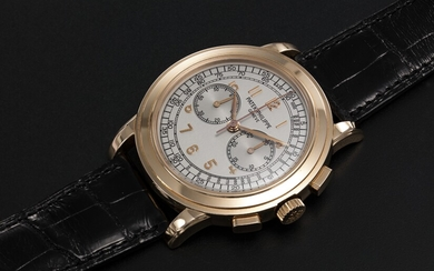PATEK PHILIPPE, REF. 5070R, A GOLD CHRONOGRAPH WRISTWATCH
