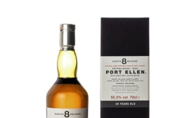 Port Ellen Eighth Annual Release 29 Year Old 55.3 abv 1978 (1 BT70)