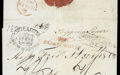 """South African Maritime Mail from 1677 The """"Joachim"""" Collection The Second British Occupation Ca..."""