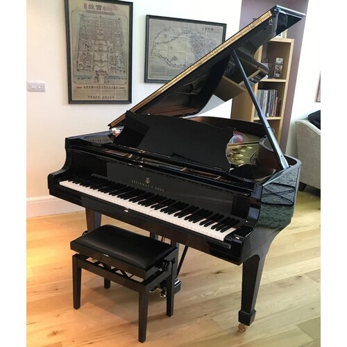 Steinway (c2015) A 6ft 11in Model B grand piano in a bright...