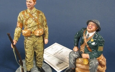 Two Royal Doulton limited edition figures from the Classics ...