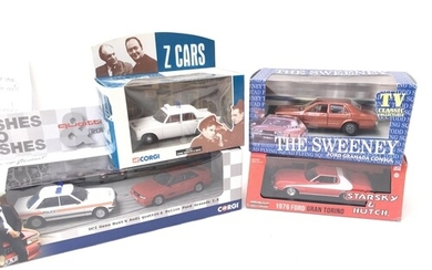 4 X Boxed TV Themed Vehicles including Richmond Toys The Swe...